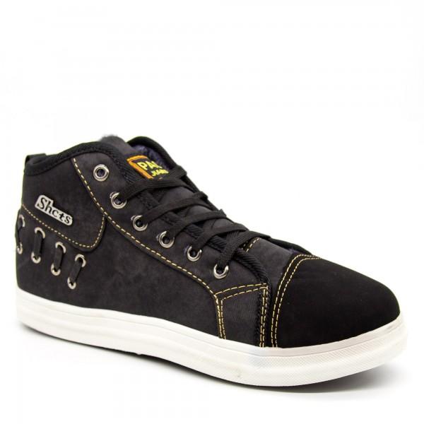 Ghete Barbati 2218 Black Fashion