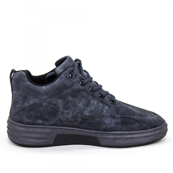 Pantofi Sport Barbati A6 PSB Grey High Help Cotton