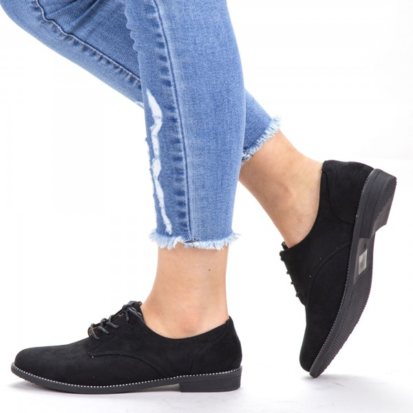 Pantofi Casual Dama YT21 Black Mei