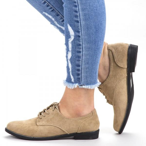 Pantofi Casual Dama YT21 Apricot Mei