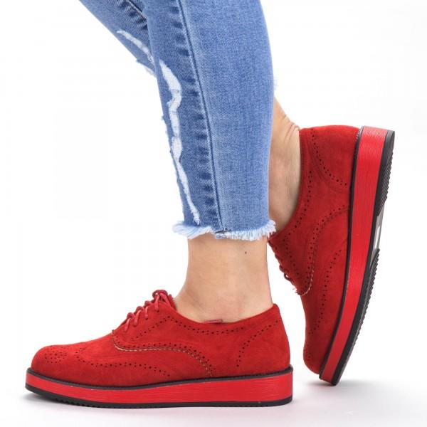 Pantofi Casual Dama DS2 Red Mei