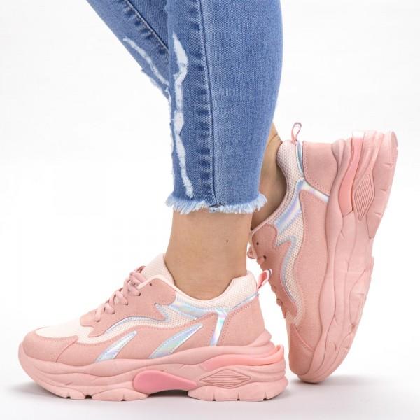 Pantofi Sport Dama XC11 Pink Mei