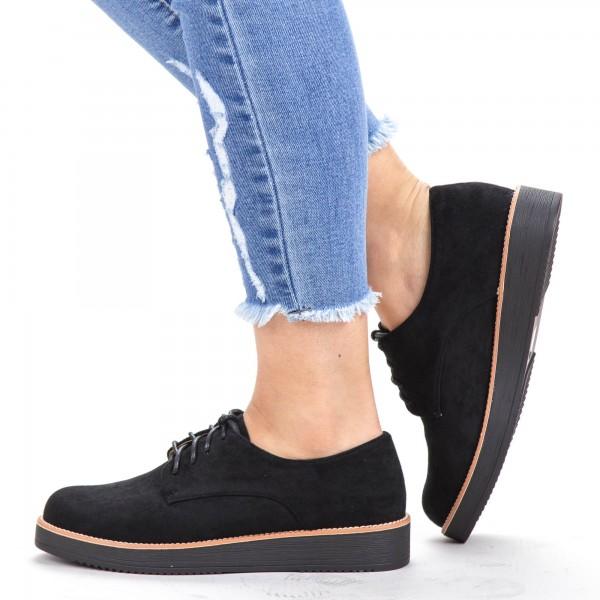Pantofi Casual Dama DS3 Black Mei