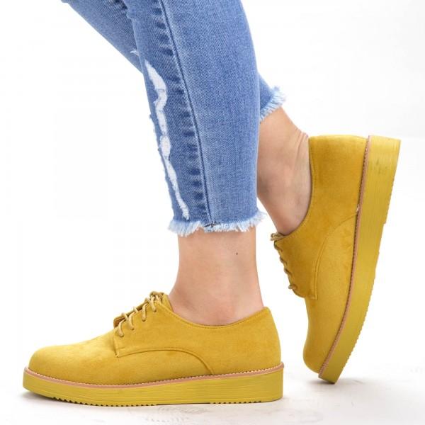 Pantofi Casual Dama DS3 Yellow Mei