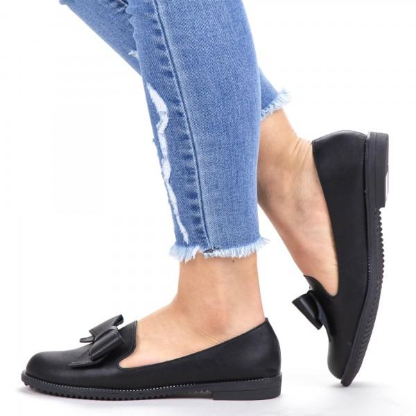 Pantofi Casual Dama YEH8 Black Mei
