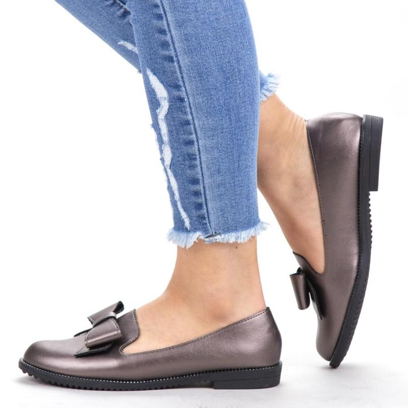Pantofi Casual Dama YEH8 Guncolor Mei