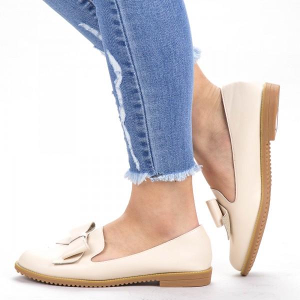 Pantofi Casual Dama YEH8 Beige Mei