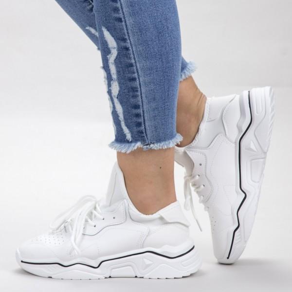 Pantofi Sport Dama HMM26 White Mei