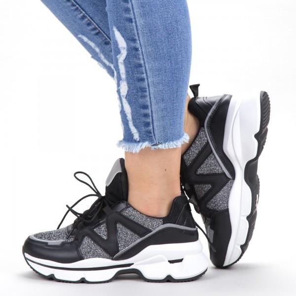 Pantofi Sport Dama YKQ212 Black Mei