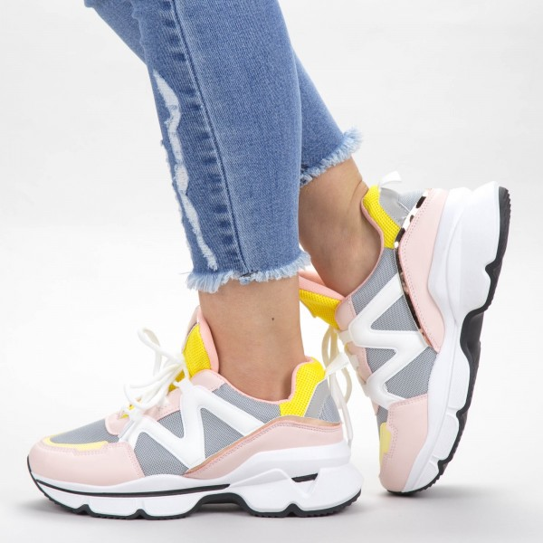 Pantofi Sport Dama YKQ212 Pink Mei