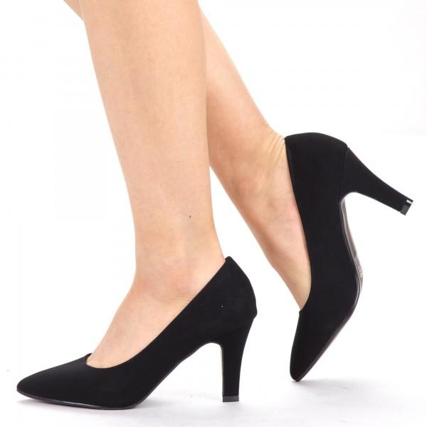 Pantofi cu Toc YXD5A Black Mei