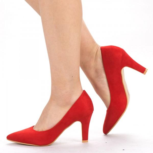 Pantofi cu Toc YXD5A Red Mei
