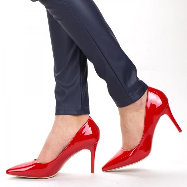 Pantofi cu Toc LLH6 Red Mei