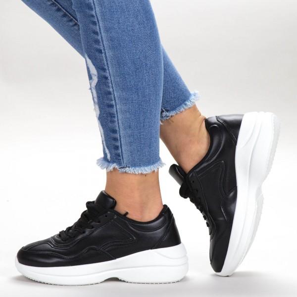 Pantofi Sport Dama 1859 PSD Black Sport Fashion