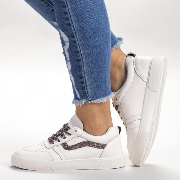 Pantofi Sport Dama 536 PSD Beige Sport Fashion