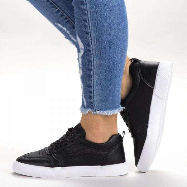 Pantofi Sport Dama 536 PSD Black Sport Fashion