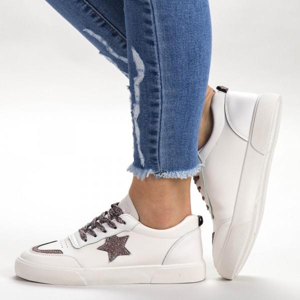 Pantofi Sport Dama 537 PSD Beige Sport Fashion