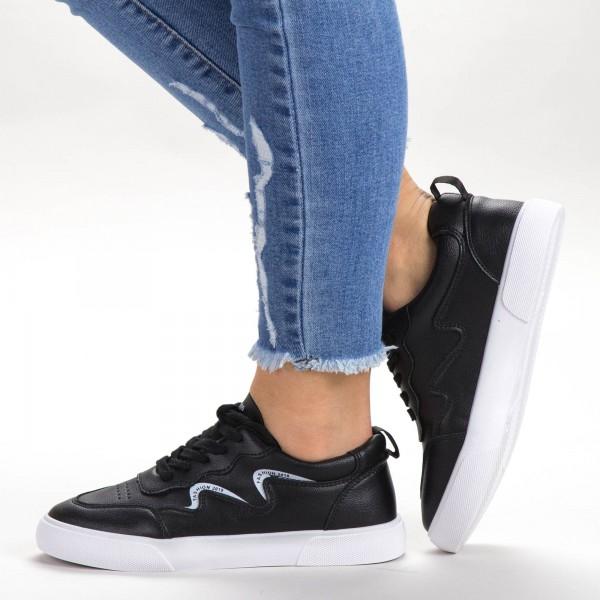 Pantofi Sport Dama 538 PSD Black Sport Fashion