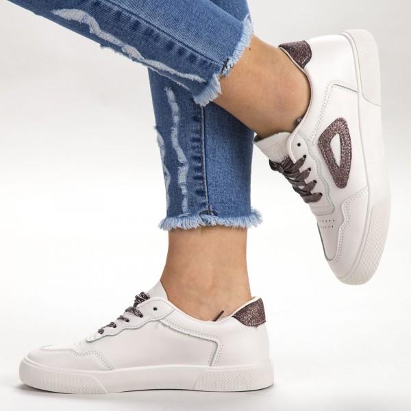 Pantofi Sport Dama 539 PSD Beige Sport Fashion