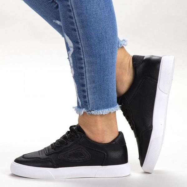 Pantofi Sport Dama 539 PSD Black Sport Fashion