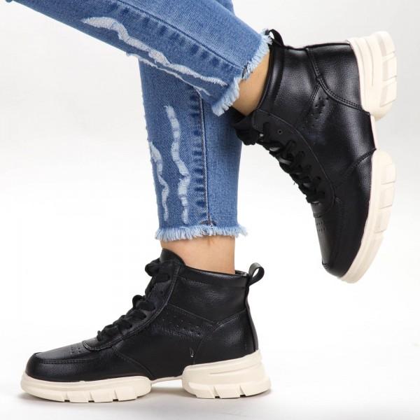 Pantofi Sport Dama A1-1 PSD Black Sport Fashion