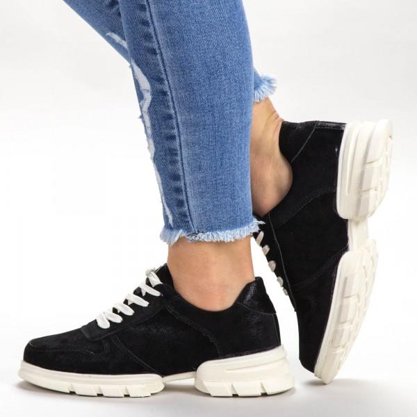 Pantofi Sport Dama A2-1 PSD Black Sport Fashion