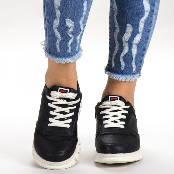 Pantofi Sport Dama A2-3 PSD Black Sport Fashion