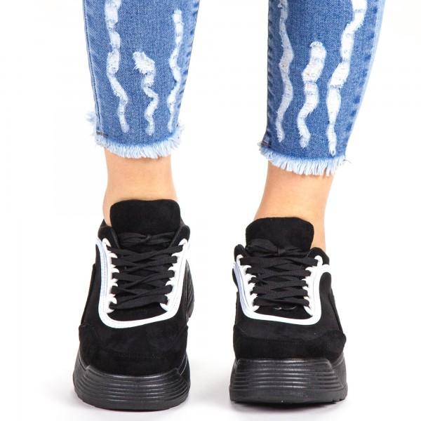 Pantofi Sport Dama BF004 Black Botinelli