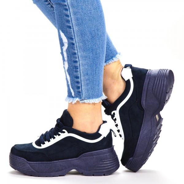 Pantofi Sport Dama BF004 Navy Botinelli