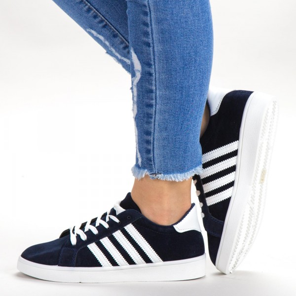 Pantofi Sport Dama C02 Navy Sport Fashion