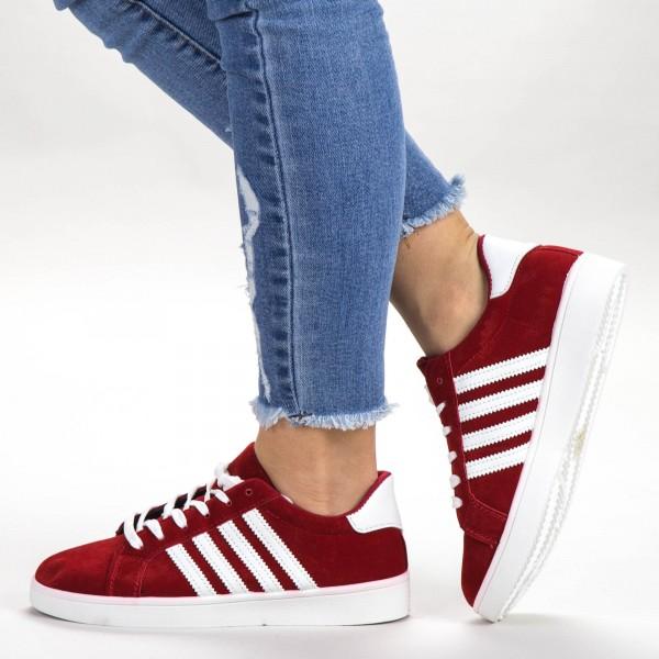 Pantofi Sport Dama C02 Red Sport Fashion