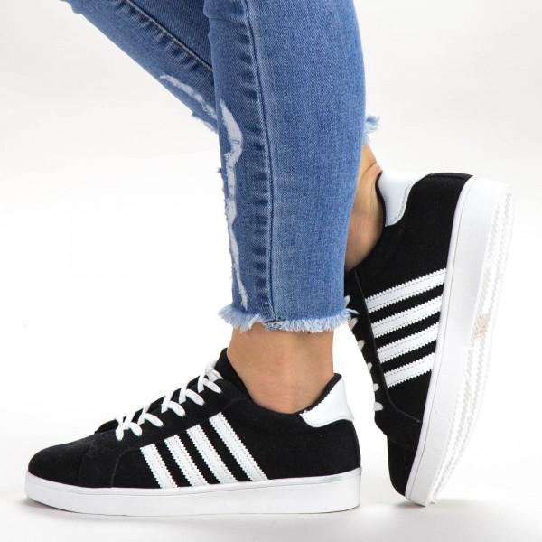 Pantofi Sport Dama C1815 Black Sport Fashion