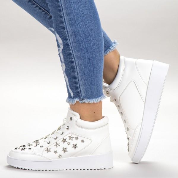 Pantofi Sport Dama CY1-2 White Botinelli