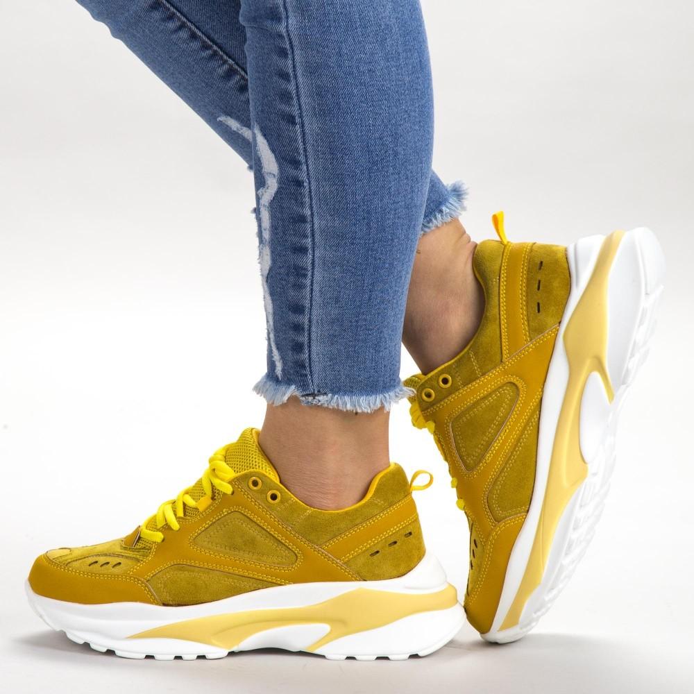 Pantofi Sport Dama SK014 Yellow Botinelli