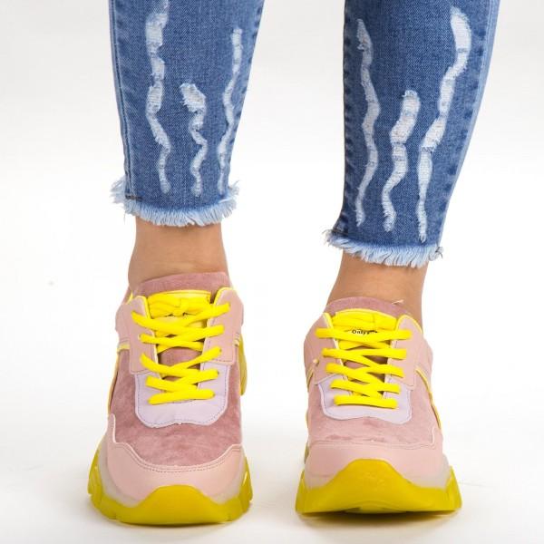 Pantofi Sport Dama SK020 Pink Botinelli