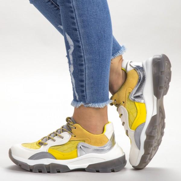 Pantofi Sport Dama SK021 Yellow Botinelli