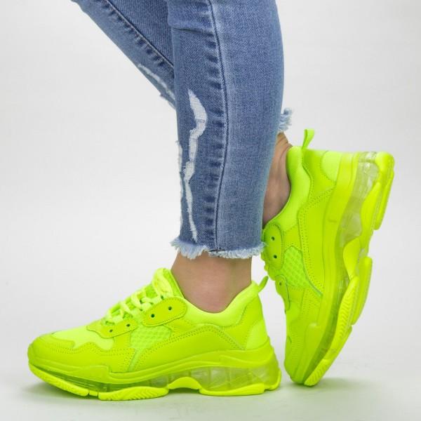 Pantofi Sport Dama YKQ193 Green Mei
