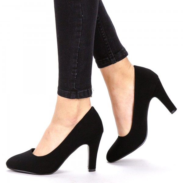 Pantofi cu Toc YXD3A Black Mei