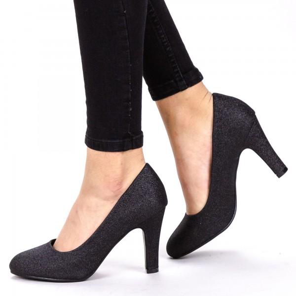 Pantofi cu Toc YXD3 Black Mei