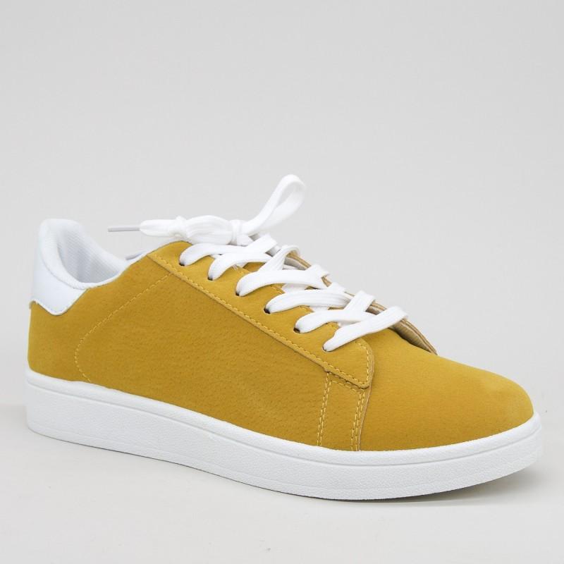 Pantofi Sport Barbati YKQ118 Yellow-White