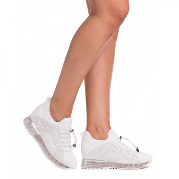 Pantofi Sport Dama SZ138 White Mei