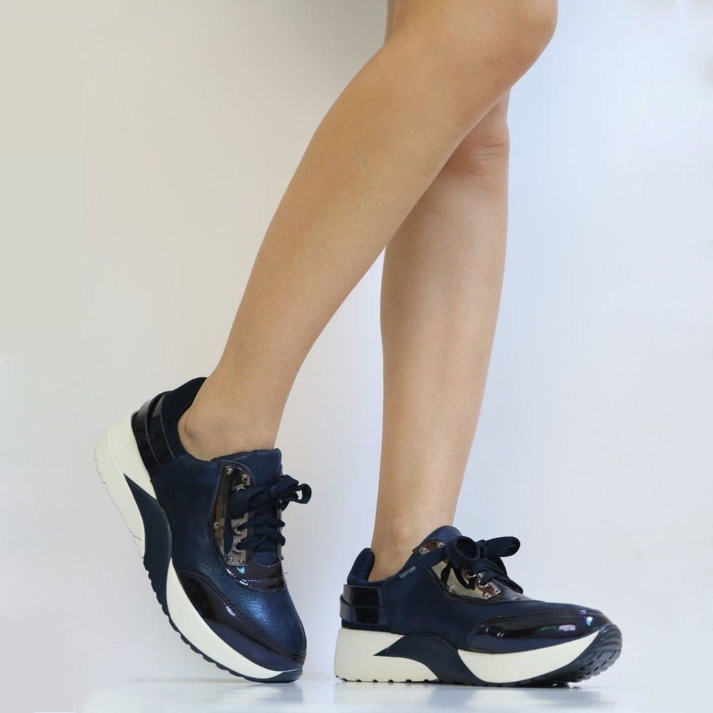 Pantofi Sport Dama WH01 Blue Mei