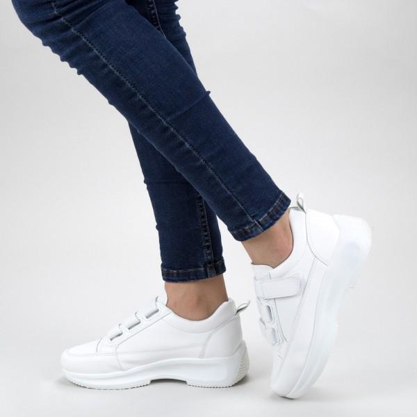 Pantofi Sport Dama XC7 06 ALL WHITE MEI