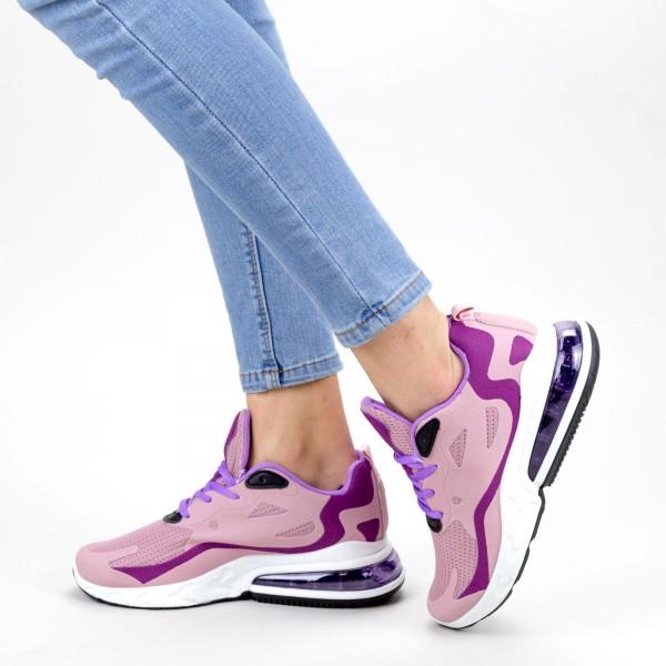Pantofi Sport Dama cu Platforma GB79 Purple Mei