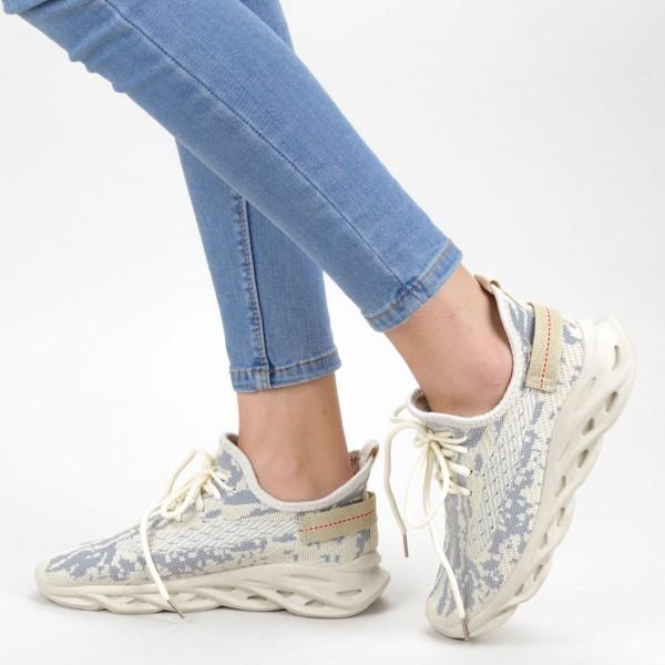 Pantofi Sport Dama XC16 White Mei