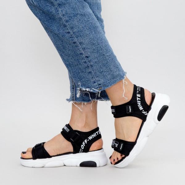 Sandale Dama A88 Black Mei