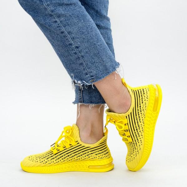 Pantofi Sport Dama LGGH1 Yellow Mei