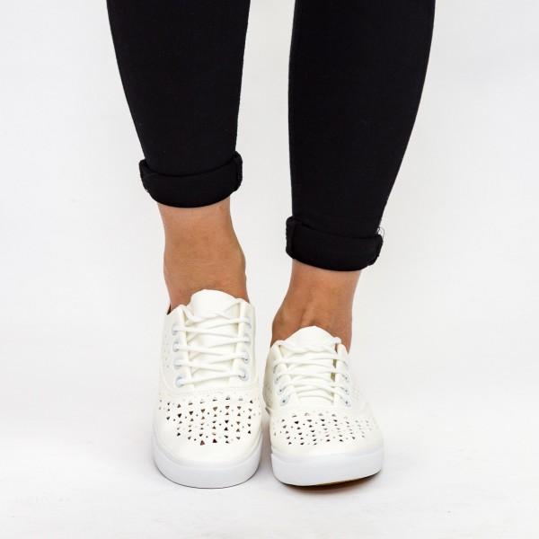 Tenisi Dama H2182 White Sport Fashion