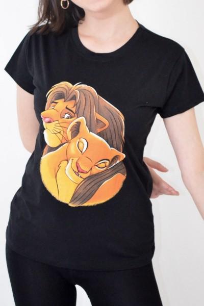 Tricou Dama 8759 LIONS Negru Adrom