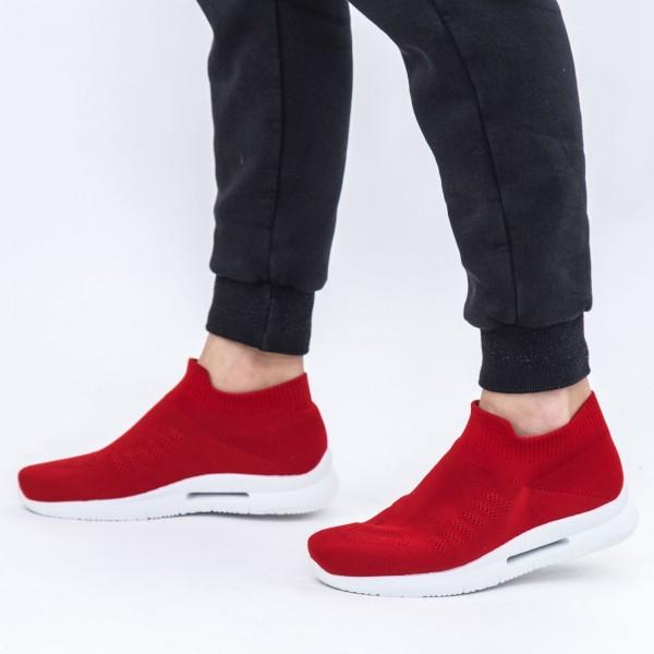 Pantofi Sport Barbati 6681 Red DCF68